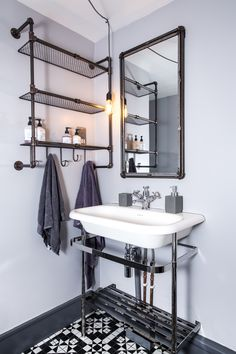 Peckham Grove - Rolltop Basin Basin, Spaces, Mirror, Bathroom, Furniture, Home Decor, Washroom, Decoration Home, Room Decor
