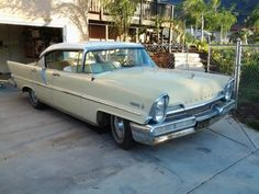 1957 Lincoln Premiere: Hardtop Styling - http://barnfinds.com/1957-lincoln-premiere-hardtop-styling/