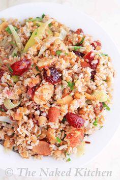 Bulgar and Leek Salad | The Naked Kitchen