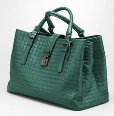 Bottega Veneta Forest Light Calf Roma Bag #handbags