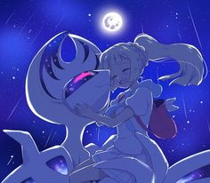 Lillie and Lunala