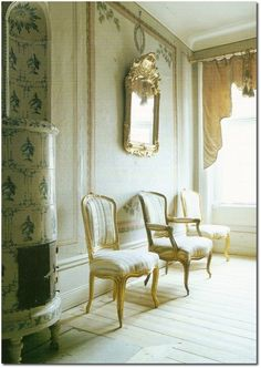 Book Review Jocasta Innes Scandinavian Painted Furniture 500x704 A Nordic Design Staple  The Swedish Kakelugn Tile Stove  Part 1