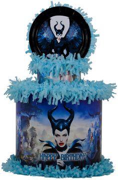 World of Pinatas - Maleficent Personalized Pinata, $39.99 (http://www.worldofpinatas.com/maleficent-personalized-pinata/)