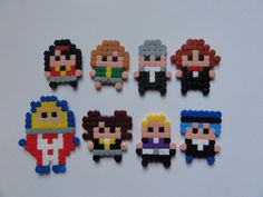 Small Persona 4  characters, pixel bead