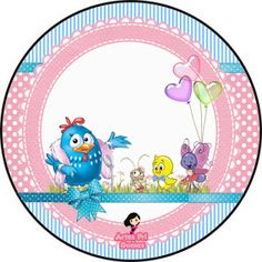 Personalizados Pri Gomes: Galinha pintadinha rosa e azul xiqueeee!! rsrsr Lottie Dottie, Color Tag, Christmas Frames, Ideas Para Fiestas, Baby Shower Balloons, Princess Birthday, Silhouette Projects, Candy Colors, Holidays And Events