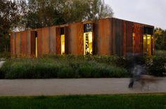 WW+ architektur + management, Wich Architekten — Pavilion Madelaine and Parc Ourbett in Kayl