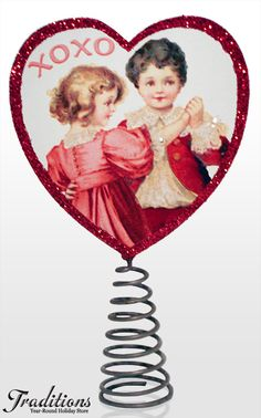 Valentine's Day Decorations & Ornaments - maybe a DIY Tree topper?