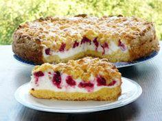 Kruche z malinami i pianką #MyVictorinox Pyszne ciasto...