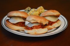 One Day At A Time - From My Kitchen To Yours: Garlic Bread Meatball Sliders