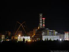 Нарушая запреты - Очередная нелегалка в Припять, или попытка нетривиального отчета #chernobyl at night @zametkiev September 15, 2013 8:02 pm