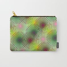 Floral dream Carry-All Pouch by cocodes Pouches, Carry On, Organize, Coin Purse, Wallet, Makeup, Floral, Stuff To Buy, Bags