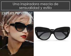 Gafas Emporio Armani a un precio irresistible. Gafas con estilo exclusivos. #Gafas #Sol #Sunglasses #Emporio #Armani  http://www.comprame.com/gafas-emporio-armani-de-mujer-negro-rosado.html