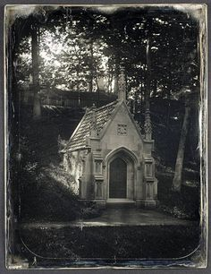 Winchester Family Tomb, Mount Auburn Cemetery by George Eastman House, via Flickr