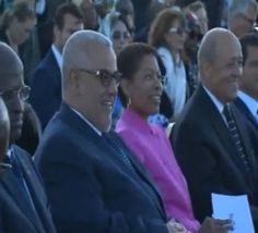 """[En Vidéo] Benkirane et """"le-Mohammed-VI"""", à la commémoration de la fin de la 2ème guerre mondiale à Toulon"""