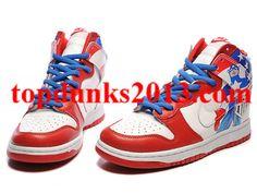 Buy Capt America x US Soccer High Top Custom Nike Dunk