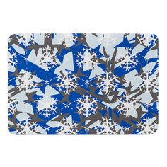 East Urban Home Ice Topography by Miranda Mol Bath Mat