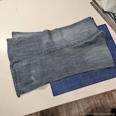 Denim Bag Patterns, Bag Patterns To Sew, Sewing Patterns, Sewing Projects For Beginners, Sewing Tutorials, How To Make Jeans, Denim Crafts, Recycled Denim, Free Pattern