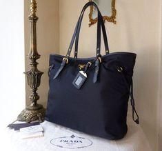5fa1007d0093 Prada Tote in Tessuto Saffiano Bleu SOLD - Prada Tote - Ideas of Prada Tote  #
