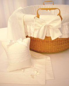 Blauen, Fine Linens for the Baby - Baskets & Cradles