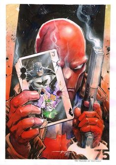 Red Hood (Batman) by Yusuf Idris