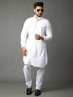 Pathani Suit Men, Pathani Kurta, Punjabi Kurta Pajama Men, Stylish Kurtis Design, Punjabi Wedding Suit, How To Look Attractive, Suit Fashion, Mens Fashion, Gents Kurta Design
