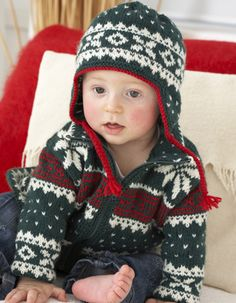 Knitting pattern of the week: Baby Jacket and Hat Source by deannan Jacket