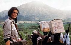 Dr. Dian Fossey, founder of the Fossey Fund for gorilla conservation.
