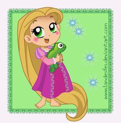 Chibi Rapunzel | Esta fanart tem uma versão maior da pasta de Imagens Grandes do ...