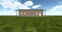 Cool 3D #marketing http://www.muellerinc.com/design/?email=info@viral3d.com&project=S-20161110161959 #barn #workshop #greenhouse #garage #roofing #DIY
