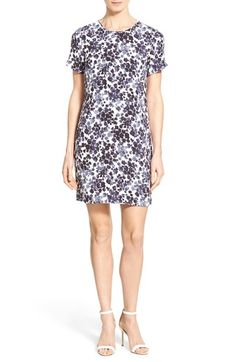 MICHAEL MICHAEL KORS 'Gemma' Print T-Shirt Dress (Regular & Petite). #michaelmichaelkors #cloth #