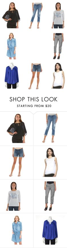 """Spring Fashion at Kohl's"" by onashoestring on Polyvore featuring Jennifer Lopez, SONOMA Goods for Life and SpringatKohls"