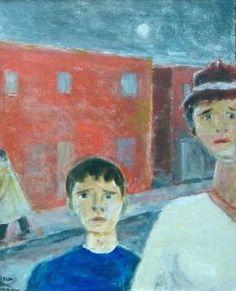 Peintre Lemieux Jean-Paul | GALERIE D'ART DOUCE PASSION Jean Paul Lemieux, Passion, Prints, Painting, Impressionism, Painted Canvas, Artist, Paintings, Draw