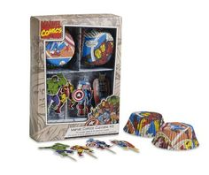 super hero party kit from williams sonoma. going to get for bears birthday.