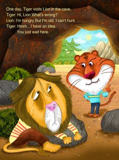 <The old lion and the fox> 001 publisher- E-Public  Illustrated by Sunkyong Kim