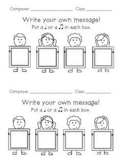 Messenger: A Game to Practice Ta & Titi FREEBIE