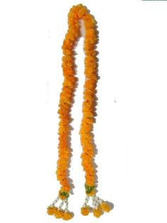 Thai Artificial Yellow Marigold Garland / Size : 1m >>> Review more details @