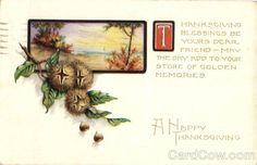 A Happy Thanksgiving Turkeys Postmark:1922 PM City:WINDSOR LOCKS PM State:CT