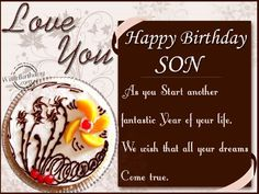 birthday wishes for a son   Birthday Wishes To Son From Parents - WishBirthday.com