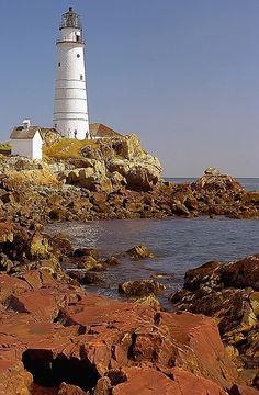 Boston Light - Little Brewster Island, Boston, Massachusetts by David Paul Ohmer, via Flickr