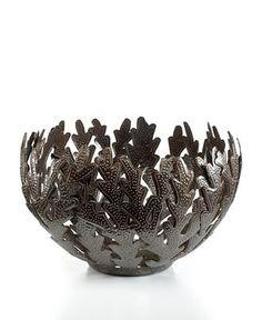 Fabulous metal bowl