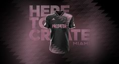 Inter Miami CF | Concept x Football Nerds on Behance Soccer Kits, Football Kits, Sports Uniforms, Sports Logo, Banner Design, Design Your Own, Sportswear, Miami, Fashion Photography