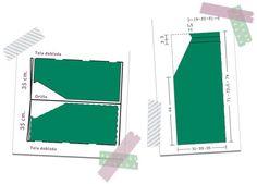 Como hacer un vestido verde esmeralda con patrón incluido