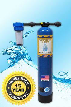 Vitasalus/Equinox Products PureMaster V-Series (V-300, V-500 and V-700) Premium Whole House Water Filtration System