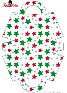 Stars: Free Printable Paper Purses