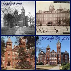 Samford Hall Through The Year's