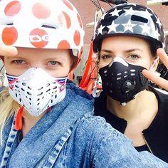 #bjzb#bajkijakzbajki#helmets#dots#stars#maska#mask#Respro#cycling#warszawa#Warsaw#najlepszyrowerowywmiescie mask & helmet