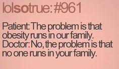 Nobody RUNS!