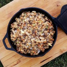 """Quick and Easy Sausage Stuffing 