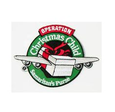 Operation Christmas Child Patch