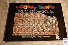$8.30: Looney Tunes Magic Eye 3D Illustions N.E. Thing Enterprises 1995 Hardcover